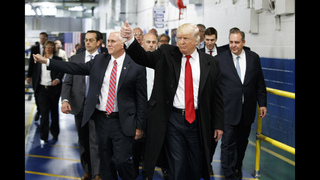 The Latest: Pence promises