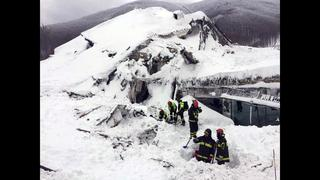 5 reported alive in rubble of alpine hotel hit by avalanche