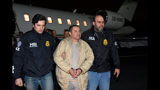 The Latest: Mexican druglord El Chapo is in US courthouse