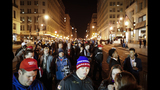 The Latest: DC drivers caught in protest skirmishes
