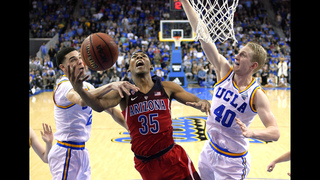 Trier returns, No. 14 Arizona shuts down No. 3 UCLA 96-85