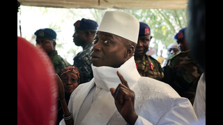 AP Interview: New Gambia leader says Jammeh leaving in hours