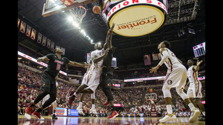 No. 10 Florida State holds off No. 12 Louisville 73-68