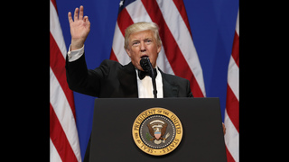Trump takes office, vows to stop