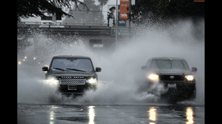 Latest: Flood warnings as California deluge intensifies