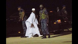 Gambia awaits new leader, but exiled one has right to return