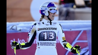 Gut remains perfect in super-G; Vonn struggles in 9th