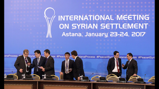 The Latest: Iran says Syria talks to focus on cease-fire