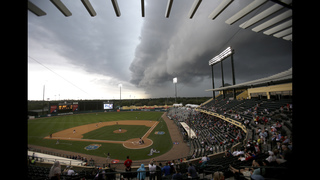 APNewsBreak: Spring training to be shortened slightly in