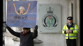 The Latest: Downing Street reacts to losing Brexit case