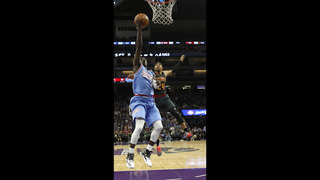 Kings rally from 22 down to beat Hawks 108-107
