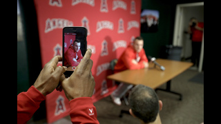 Mike Trout stays humble and hungry in new season with Angels