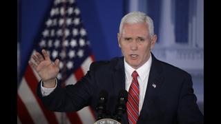 Pence says US to hold Russia accountable, stand with NATO