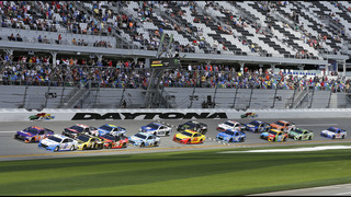 Logano takes advantage of late crash, wins Clash at Daytona