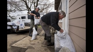 Flood fears renewed as California is pounded by storm