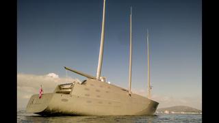 Sleek superyacht seized in Gibraltar over $16.2M debt claim