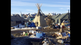 Deadline looms for Dakota Access pipeline protest camp