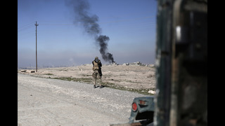 Iraqi military says troops consolidate gains south of Mosul