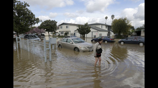Residents return after flooding to access damage in San Jose