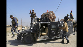 The Latest: Iraqi special forces enter base by Mosul airport