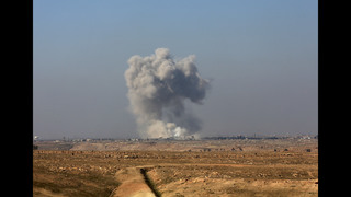 Iraqi forces push up to Mosul