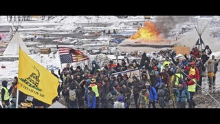 The Latest: North Dakota protest camp cleared