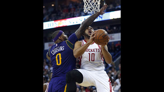 Rockets rout Pelicans, 129-99, in Cousins