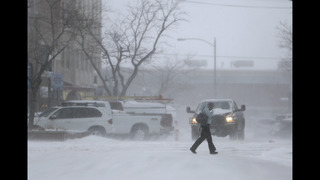 Storm system that hit California moving into the Midwest