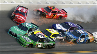 Reed grabs Xfinity Series win in wreck-fest at Daytona