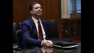 Comey in middle of political fray over Trump and Russians