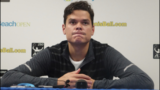 Injured Milos Raonic withdraws, Sock wins Delray Beach Open