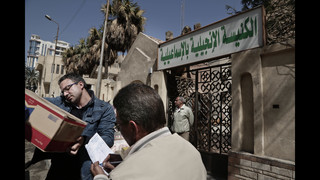 Egyptian Christians fearing terror flee Sinai for 4th day
