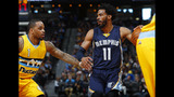 Conley scores 31 as Grizzlies beat Nuggets 105-98