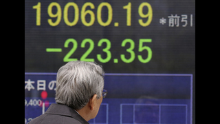 Asian markets lower as investors look to Trump speech