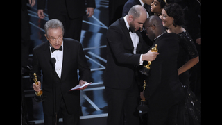 The Latest: Accounting firm takes blame for Oscars flub