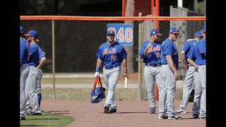 Mets minor leaguer Tebow hits 9 homers in batting practice