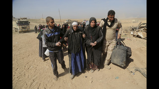 UN: 8,000 flee as Iraqi forces fight IS in western Mosul
