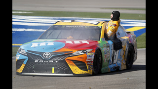 Kyle Busch-Joey Logano brawl brings buzz to NASCAR Cup