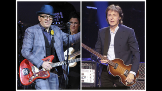 AP Interview: McCartney, Costello & the album that never was