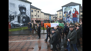 IRA chief, peacemaker McGuinness to be laid to rest in Derry