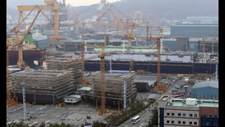 South Korea to inject $2.6 bln into ailing shipyard Daewoo