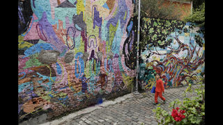 Sao Paulo street art debate over what makes cities livable