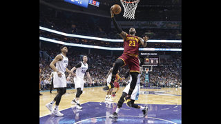 James to see eye doctor after 112-105 win over Hornets