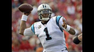Panthers GM not second guessing playing injured Cam Newton