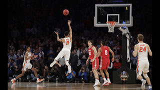 Elite! Chiozza hits 3 at OT buzzer, Gators beat Wisconsin