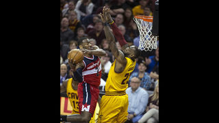 Wall scores 37 as Wizards down LeBron, Cavs 127-115