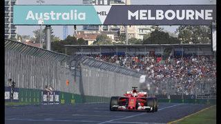 Vettel breaks Ferrari