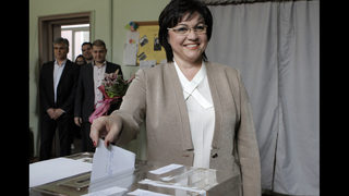 The Latest: Socialist leader in Bulgaria votes for change