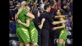 Oregon needs monumental upset to reach Final Four