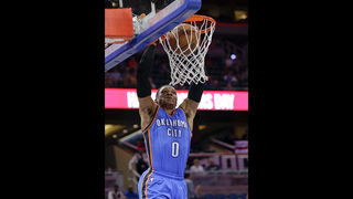 Westbrook scores 57 in Thunder